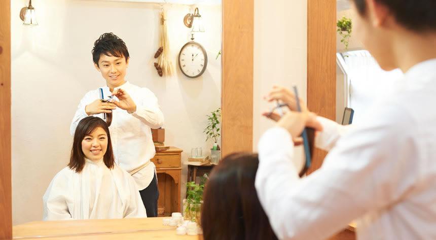 男性美容師編