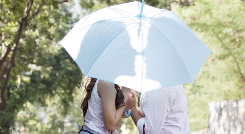 日傘女性編